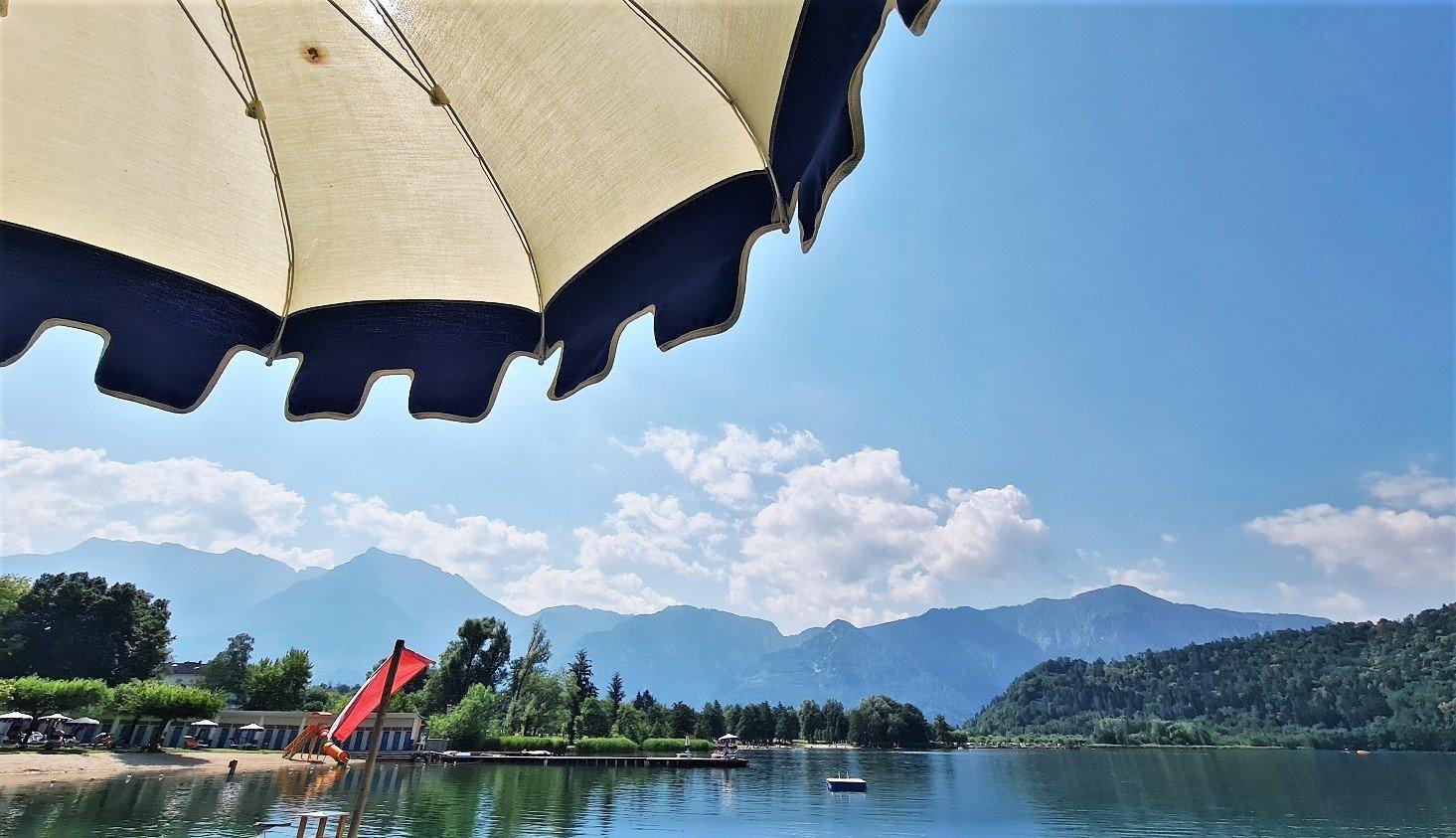 Una giornata al lago di Levico per me
