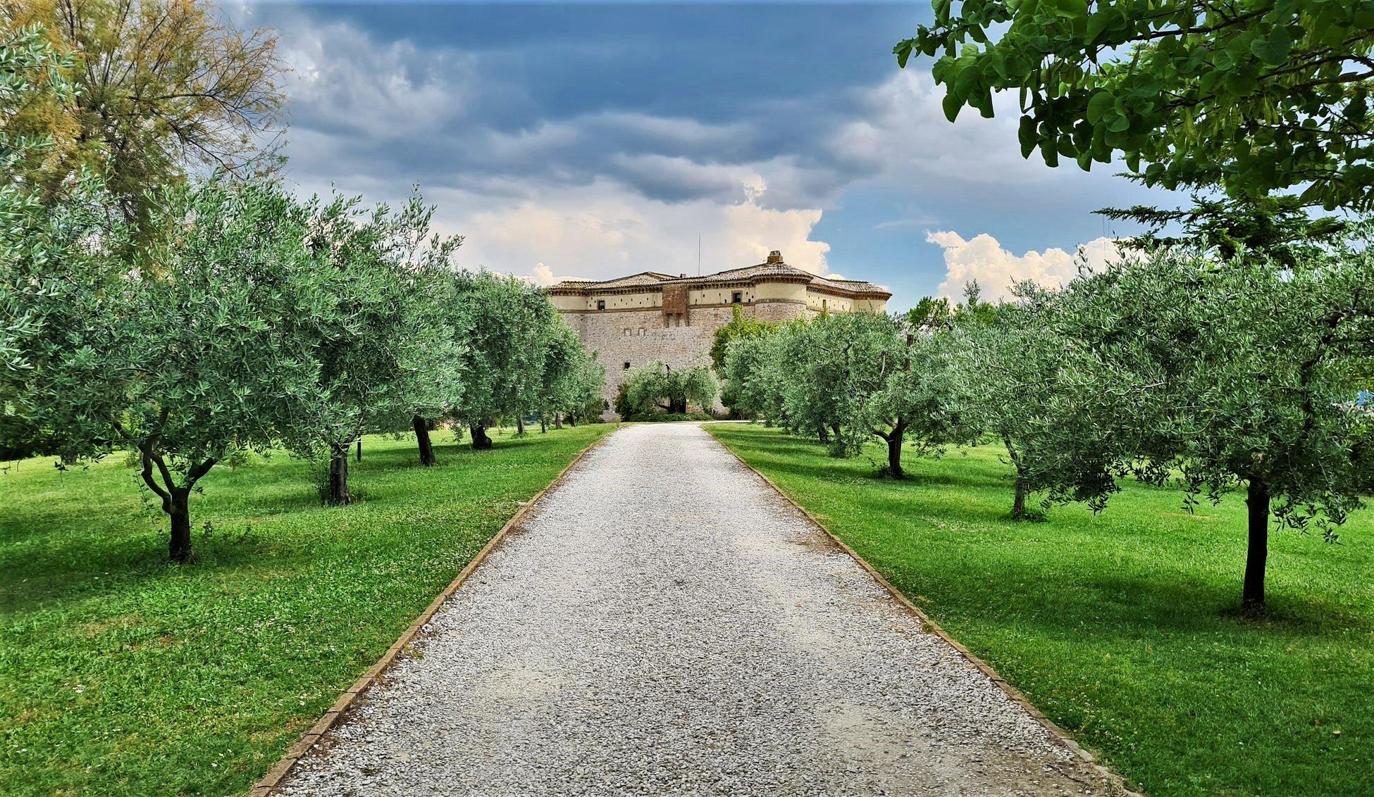 Dove dormire in Umbria La Fortezza Alta