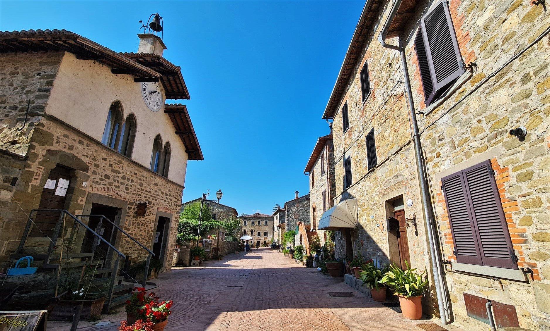 Il borgo dell'Isola Maggiore