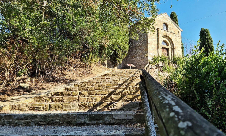 le chiese dell'Isola Maggiore sul Trasimeno