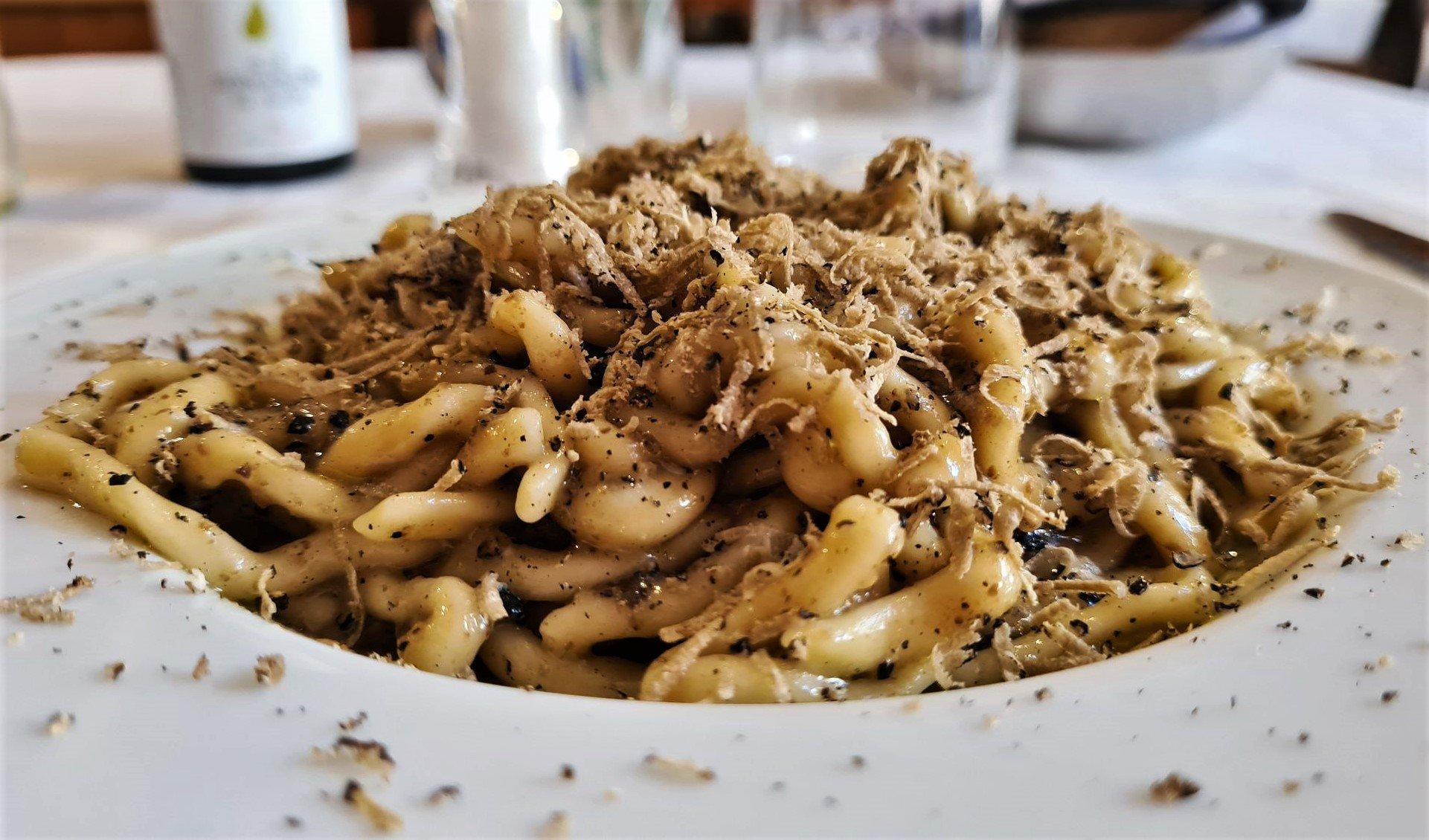 pasta al tartufo