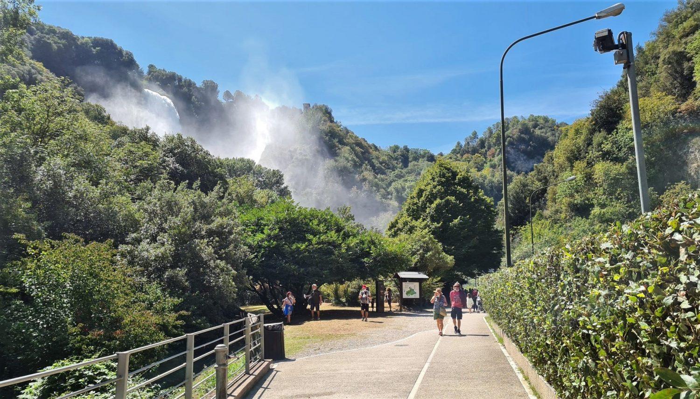 Dove si trova la cascata delle Marmore