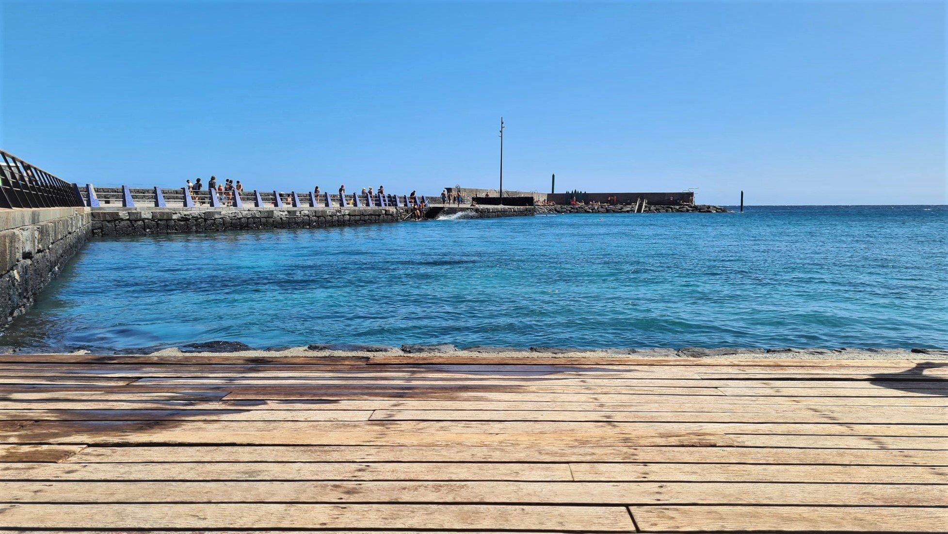 Caratteristiche di questo posto dove fare il bagno a Tenerife