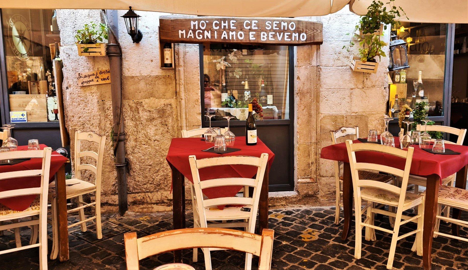 Dove mangiare a Spoleto in Umbria Il mio vinaio