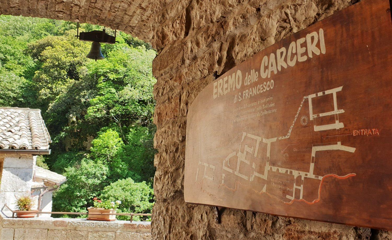 Dove si trova l'Eremo delle Carceri in Umbria
