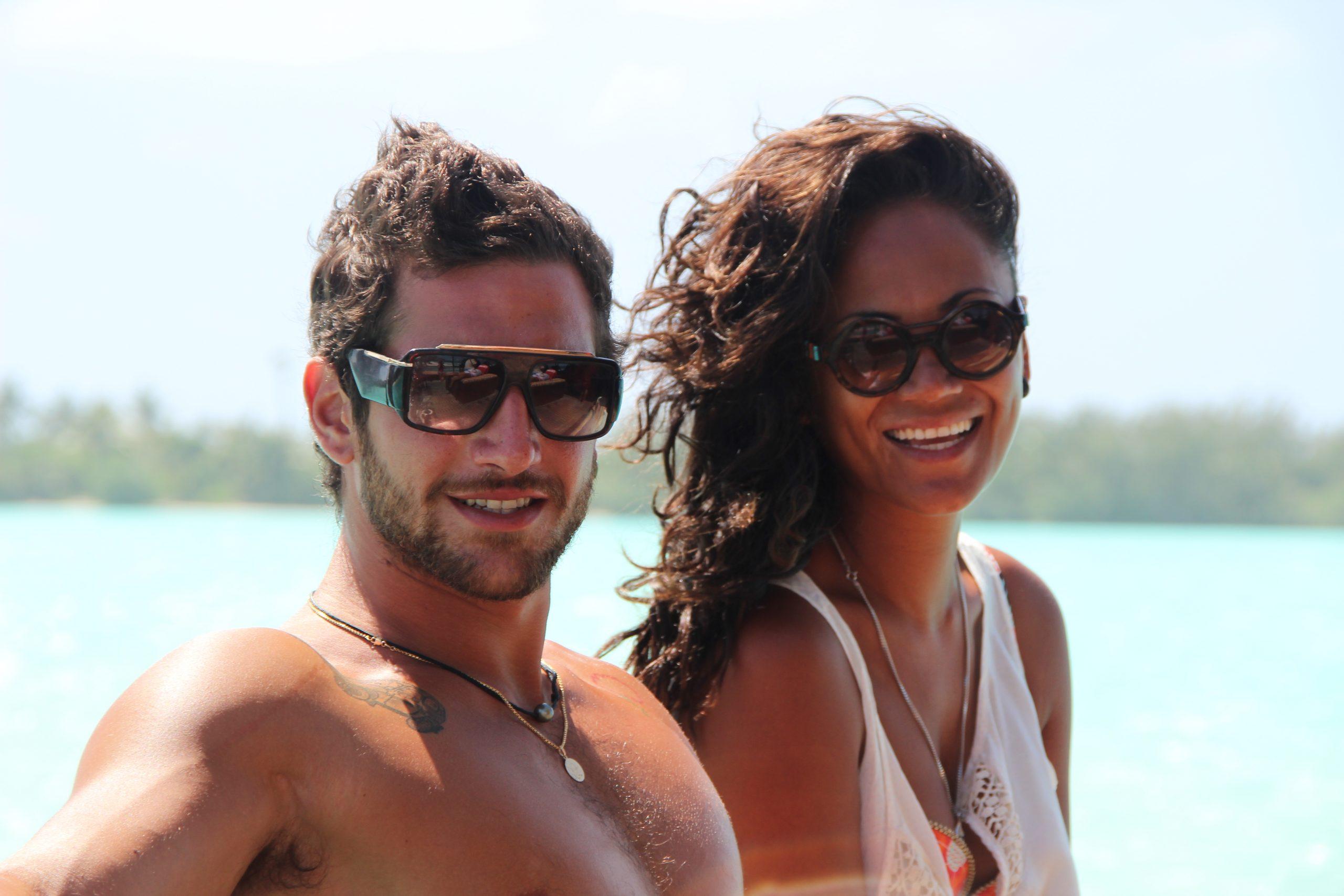 Jacopo e Kura Isole Cook