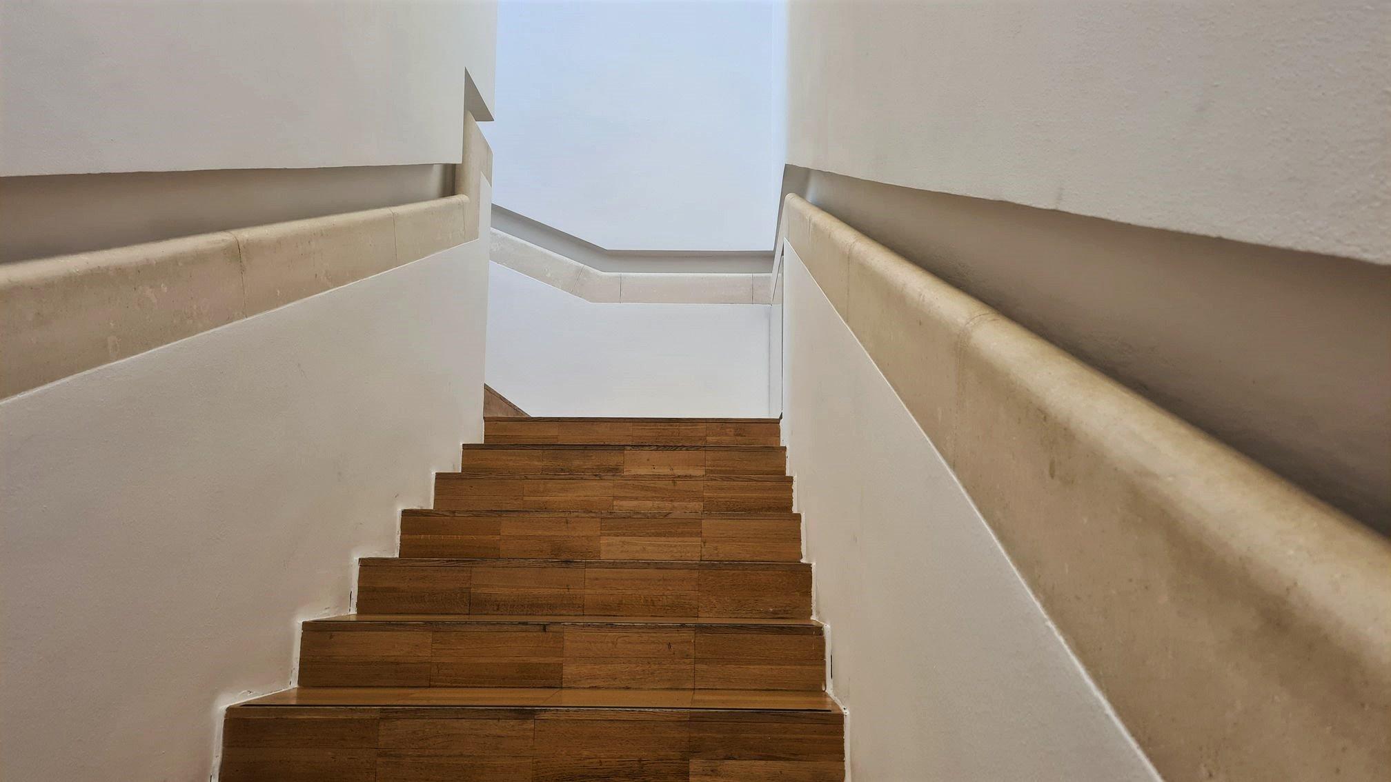 la scala di Casa Depero