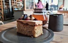tè caffè e dolci a Manchester Pollen Bakery