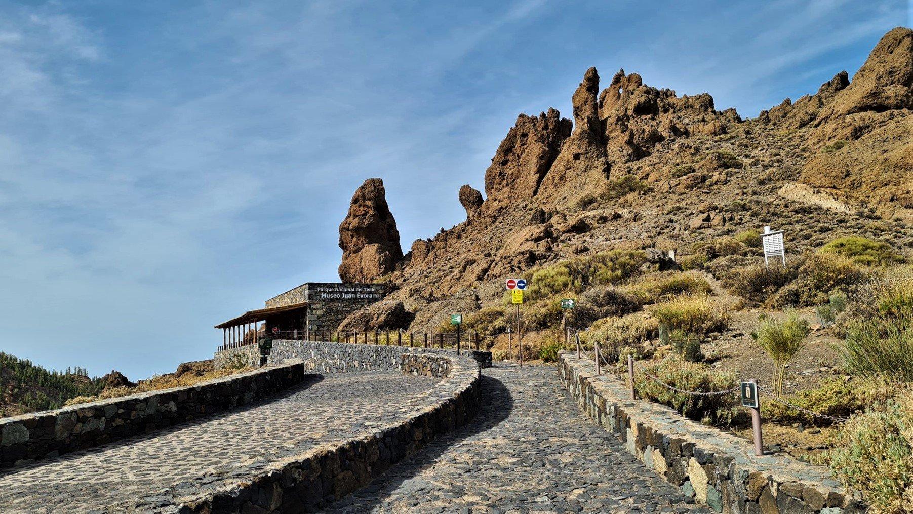 La Cañada Blanca e centro visitatori