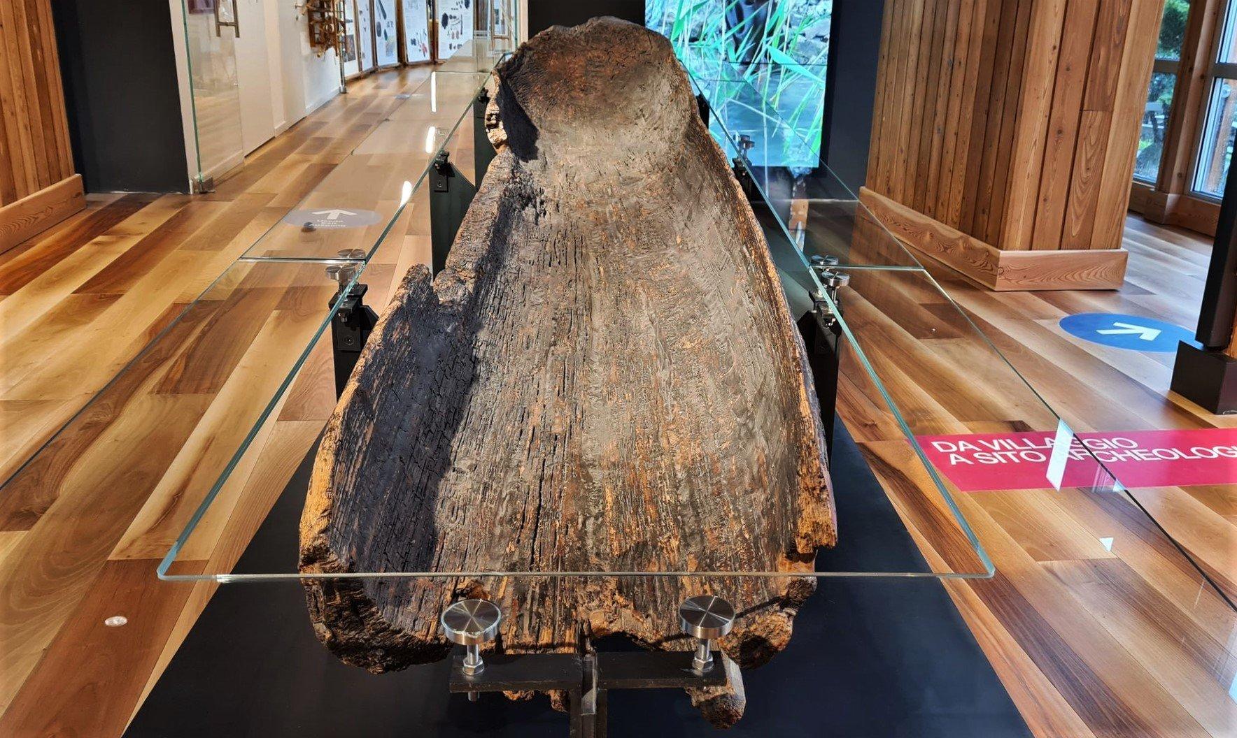La canoa monoxile