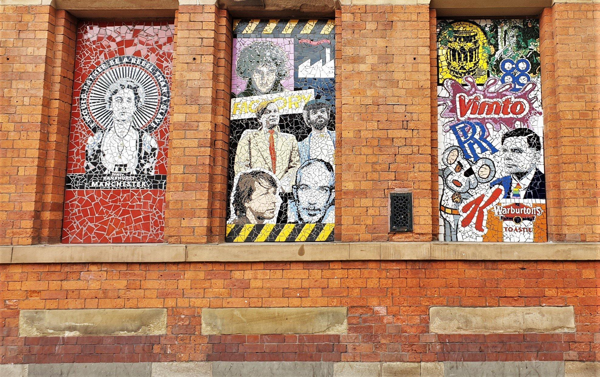 L'arte sui muri di Afflecks