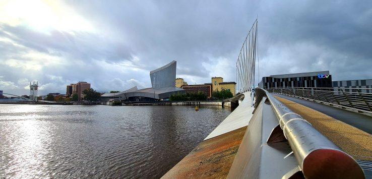 Manchester Vedere nella zona di Salford Quays