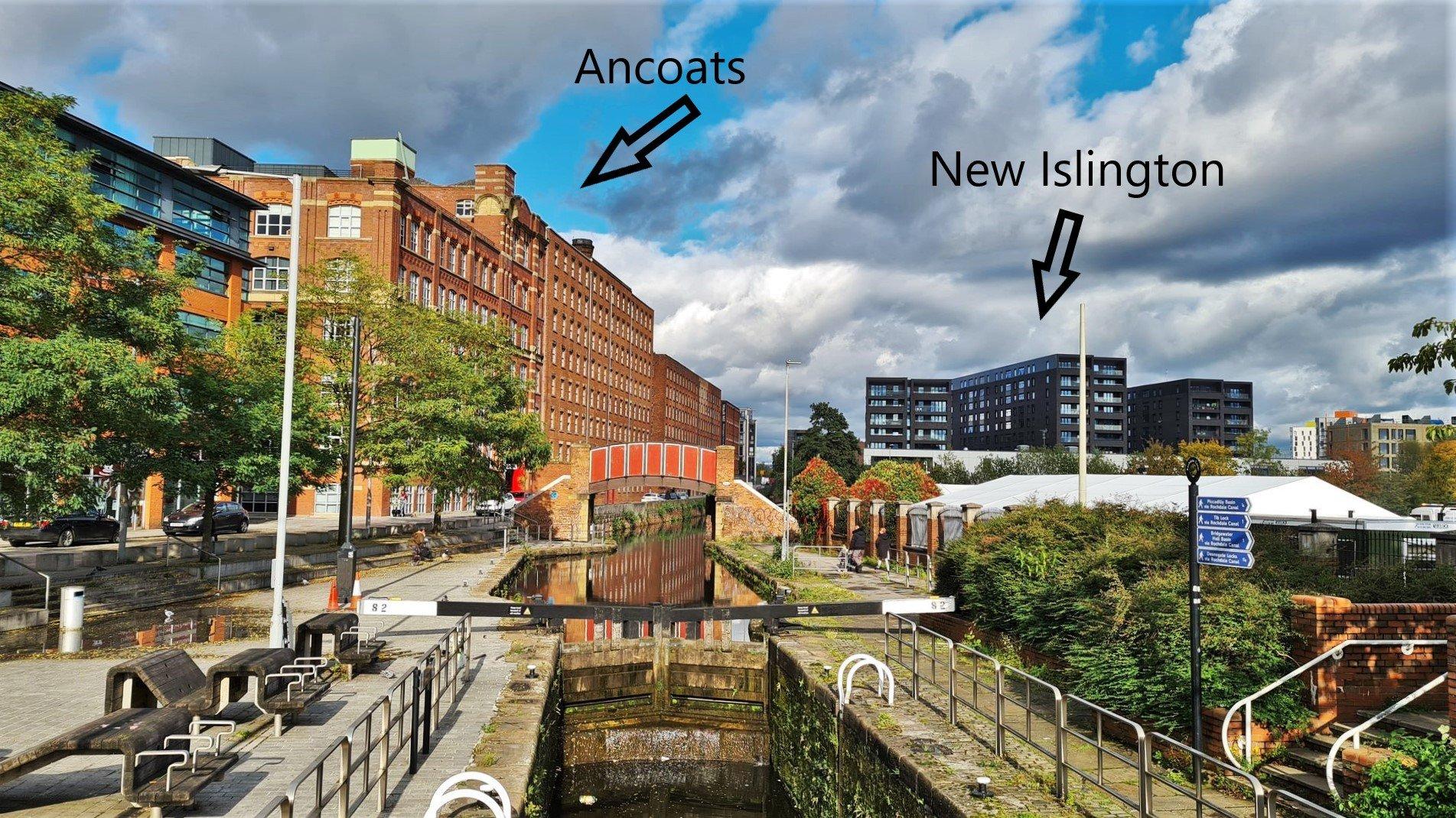 Dove si trova New Islington