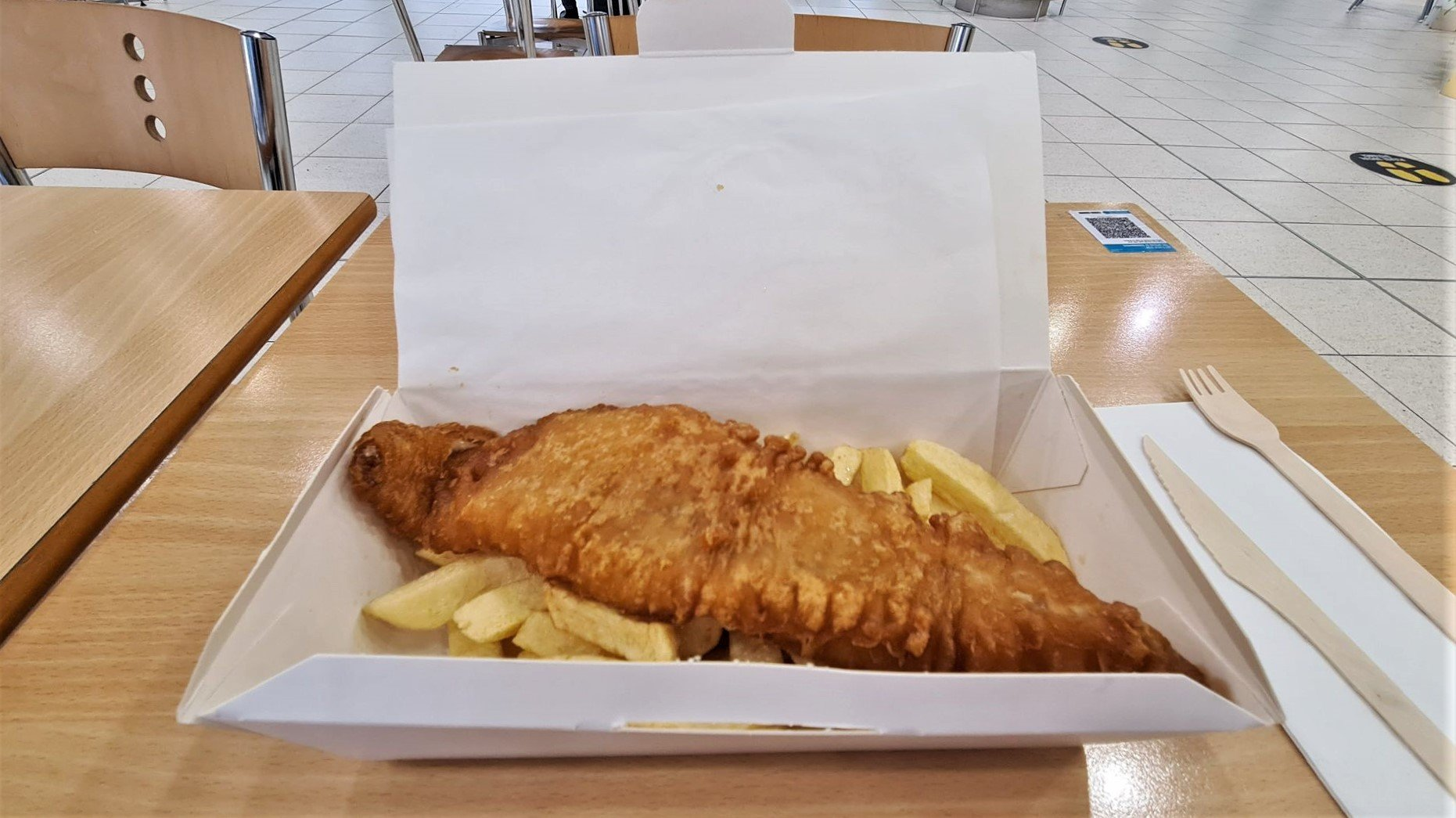 Fish and Chips Harry Ramsden The Lowry