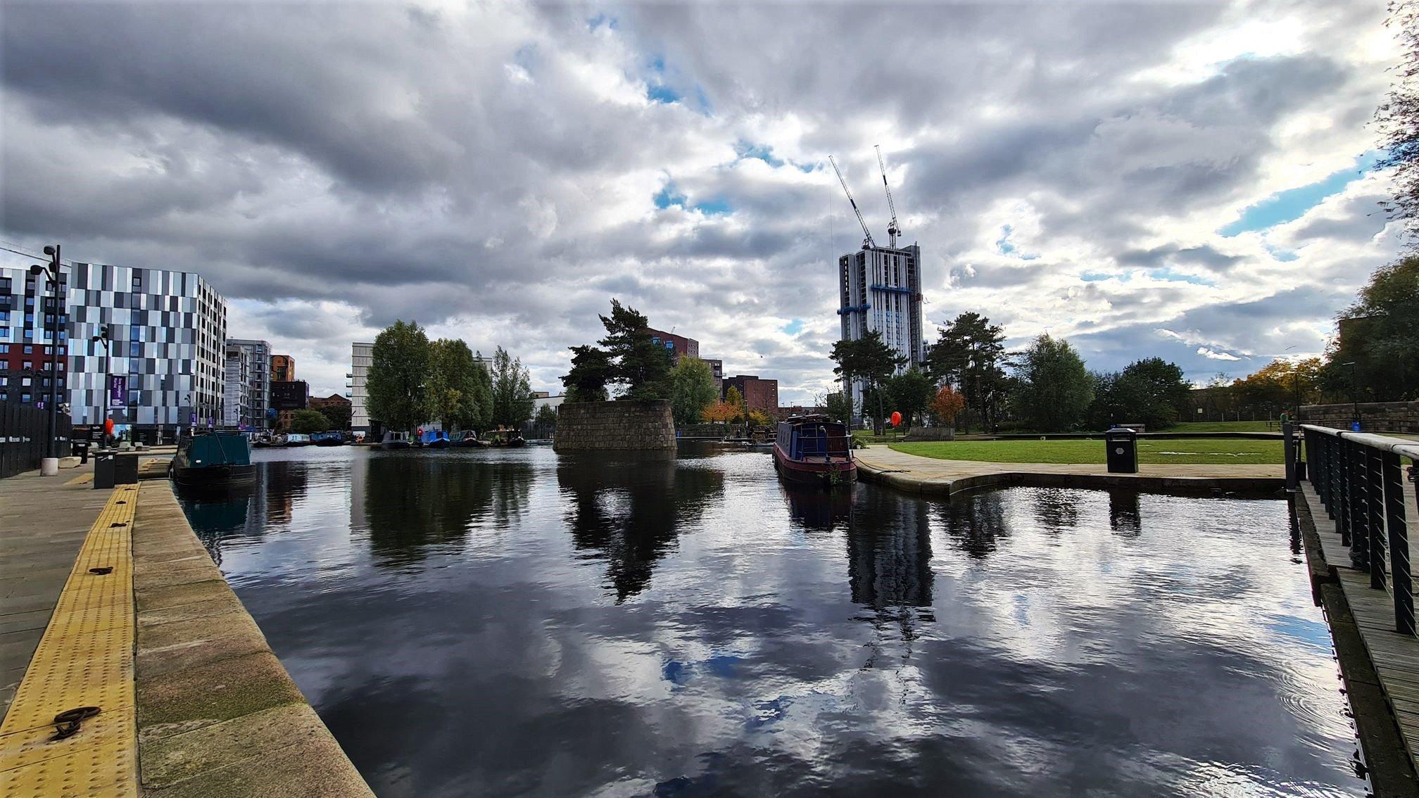Il bacino di New Islington