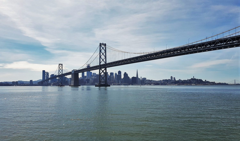 San Francisco vista dall'acqua