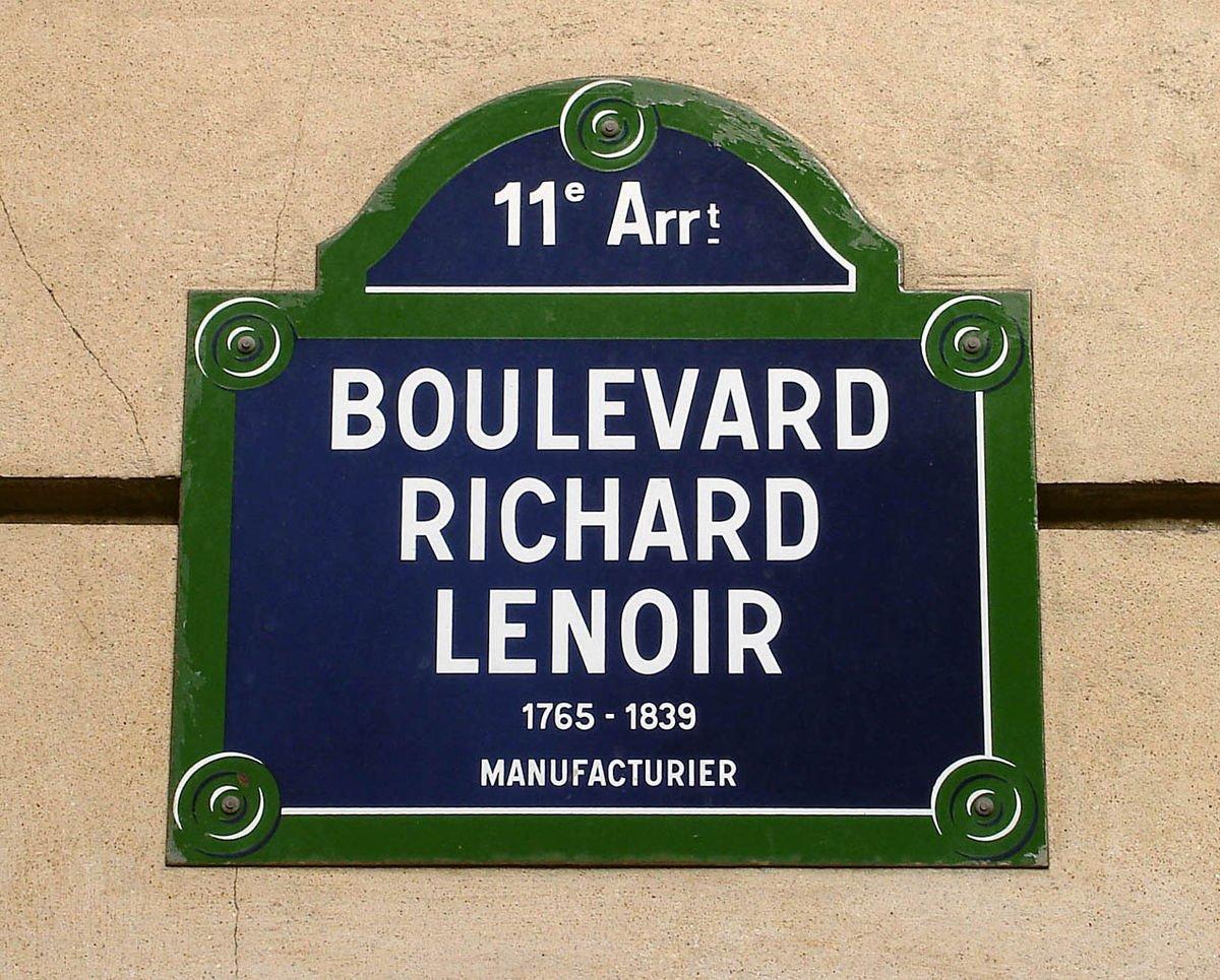 Maigret e Boulevard Richard Lenoir