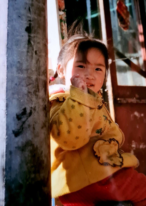 Facce da Cina La bimba