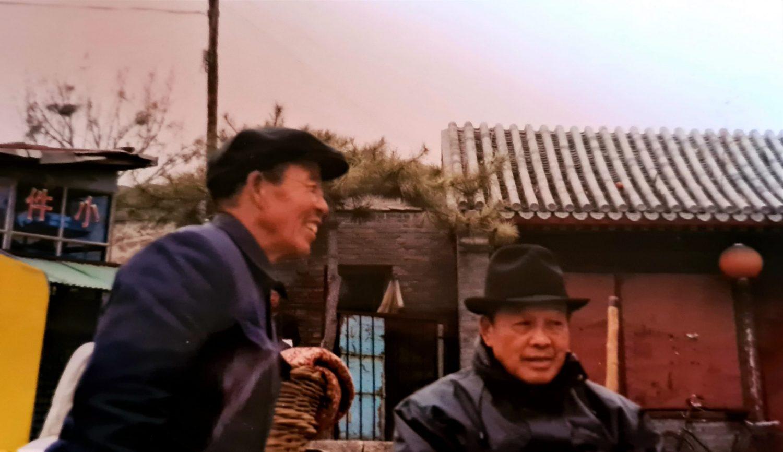 Facce da Cina I due vecchietti