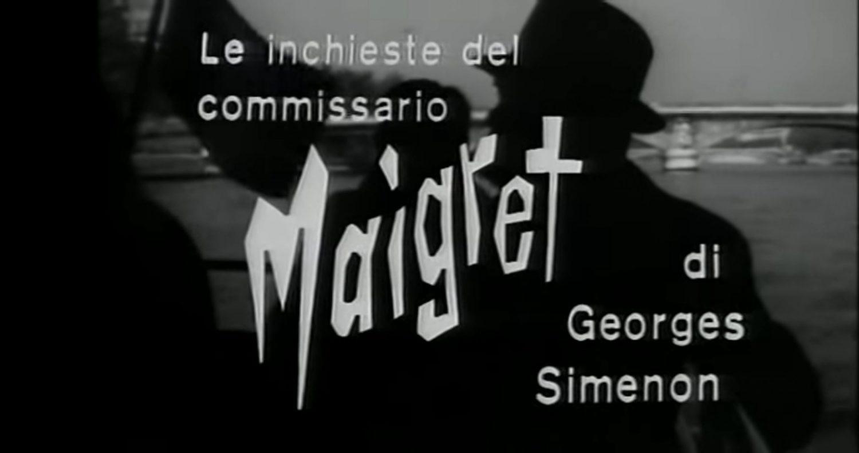 Il commissario Maigret di Simenon