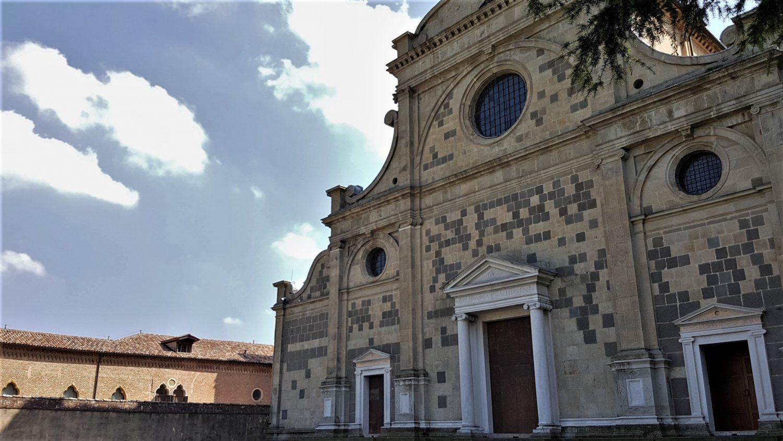 La chiesa dell'Abbazia di Praglia