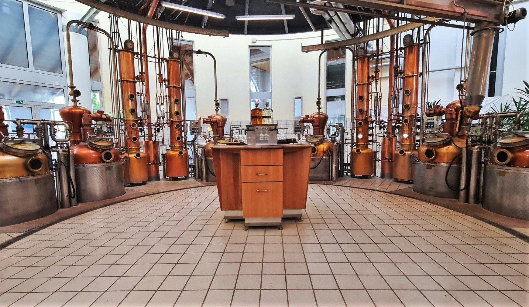 Sala di distillazione