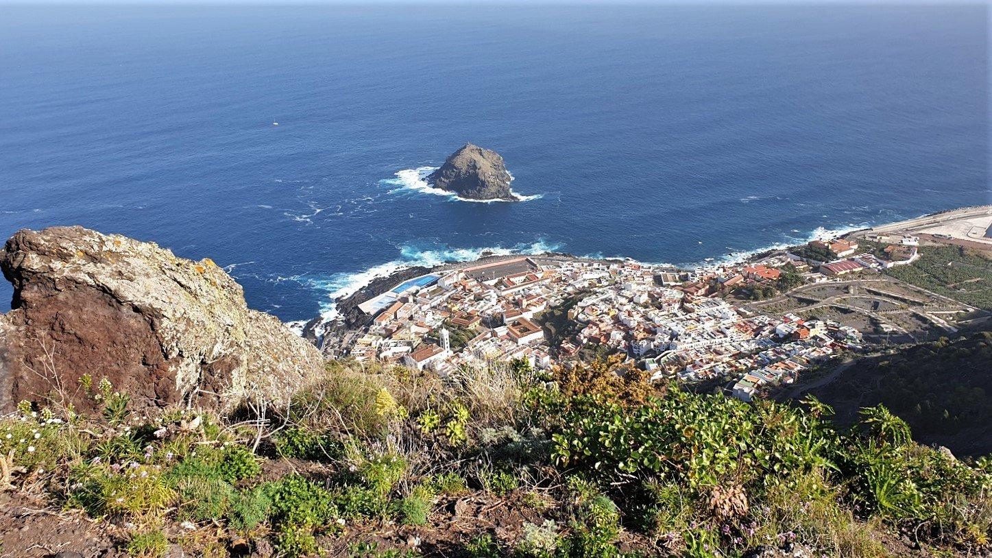 Tenerife Strada per Garachico