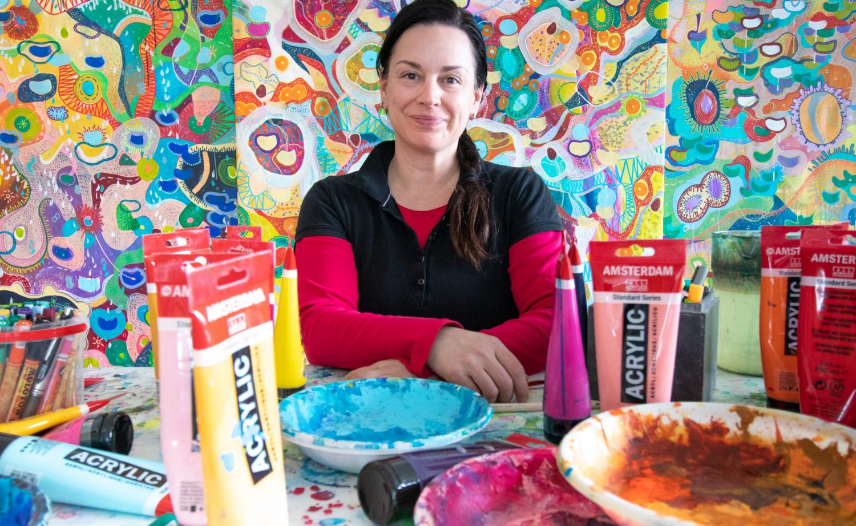 Giada Bianca Artista: arte narrativa