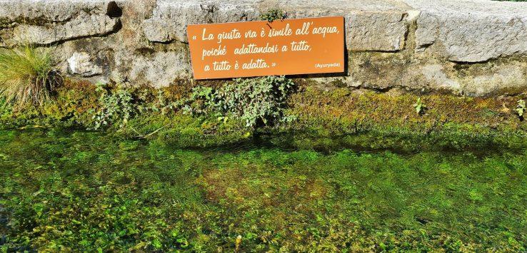 Itinerari di viaggio in Umbria la via dell'acqua
