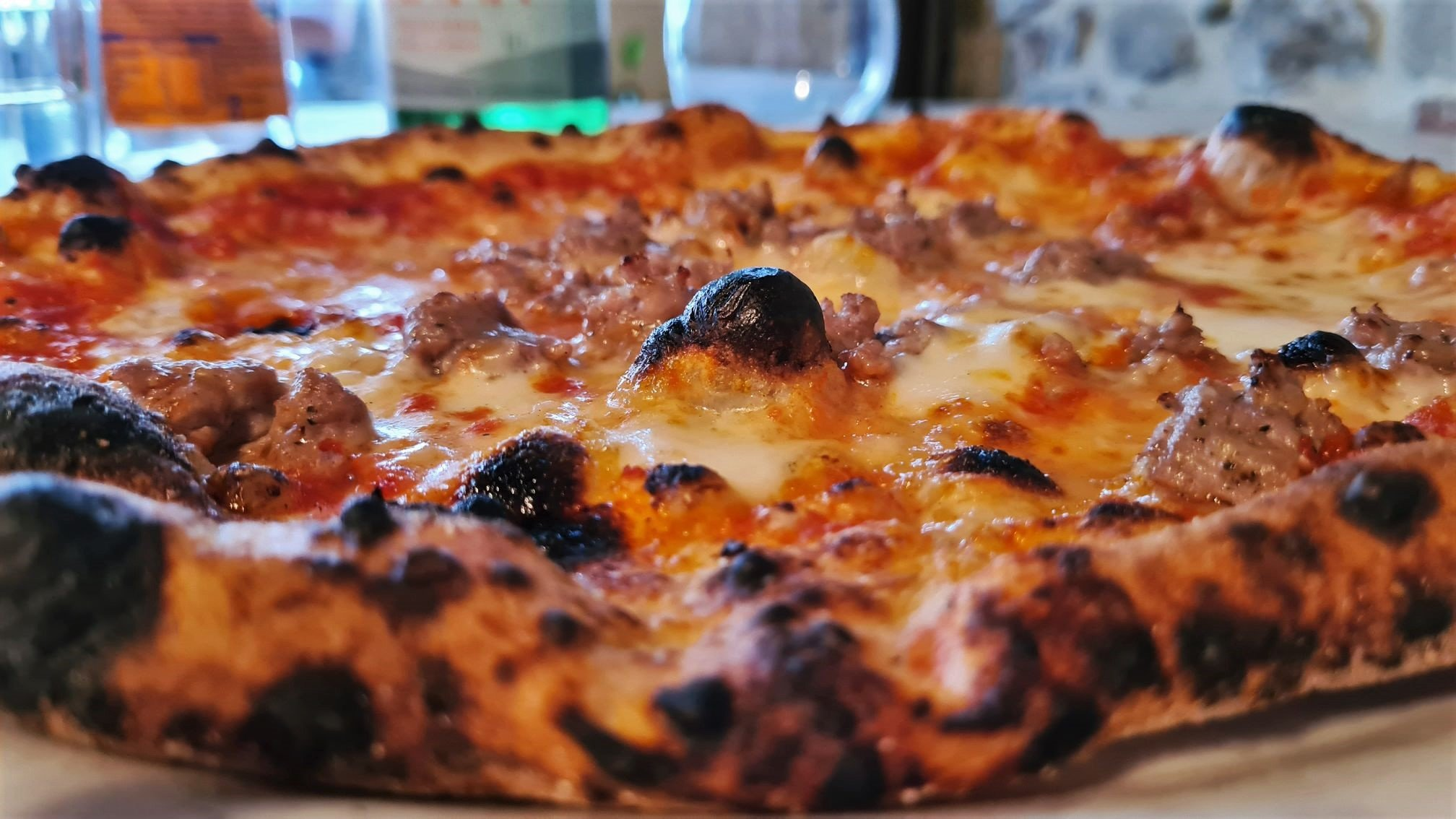 La pizza a Passignano sul trasimeno