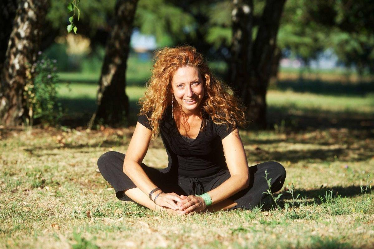 Laura Voltolina_Lezione di Yoga