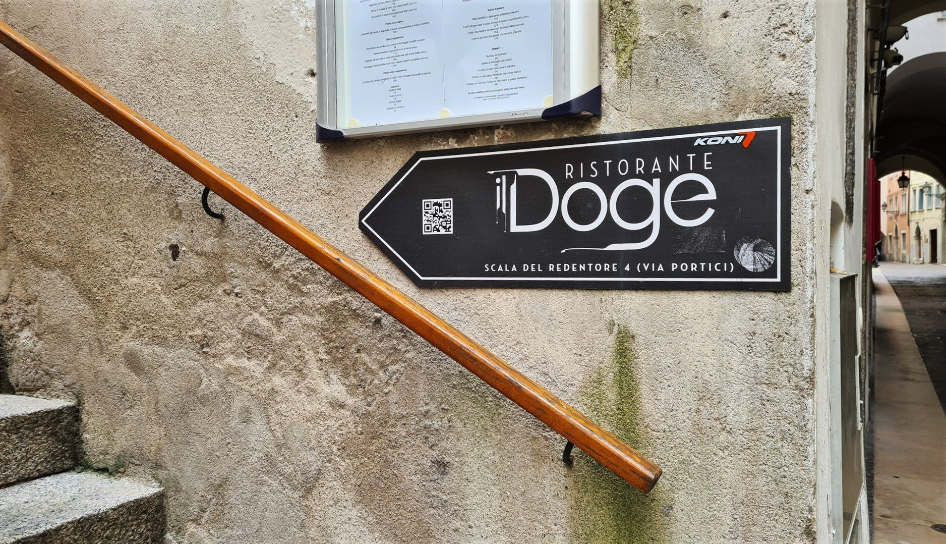 Dove si trova il Doge a Rovereto