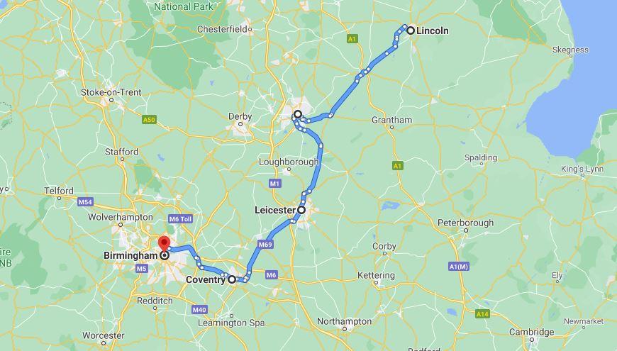 Viaggio in Inghilterra Itinerario 7 giorni Midlands