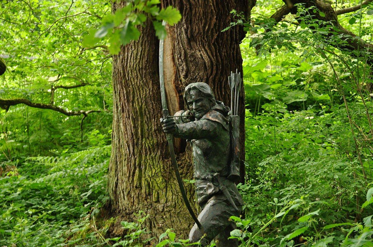 Visitare la foresta di Sherwood