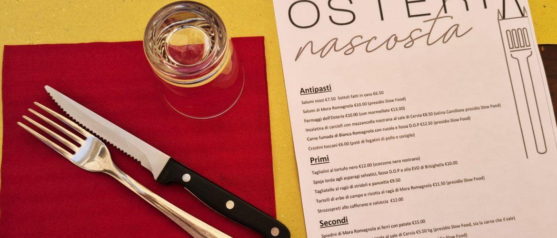 Dove mangiare a Forlì Osteria Nascosta