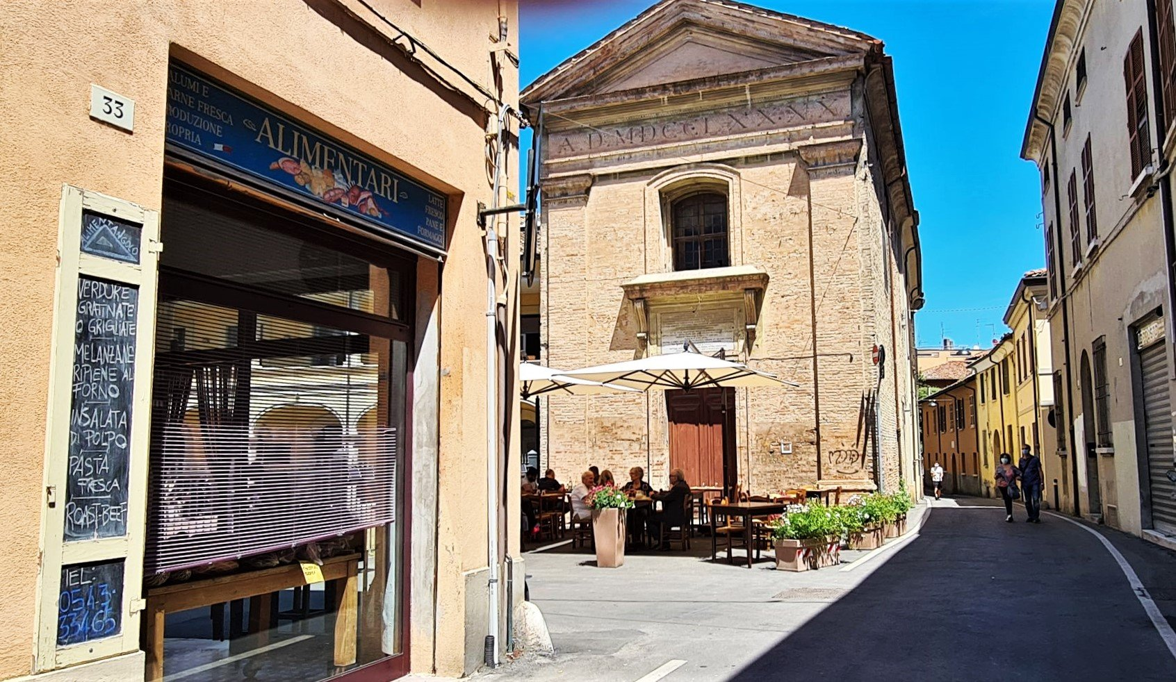 Dove si trova l'osteria nascosta a Forlì