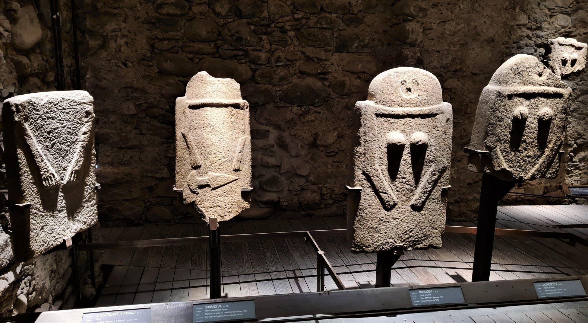 La visita al museo delle statue stele di Pontremoli