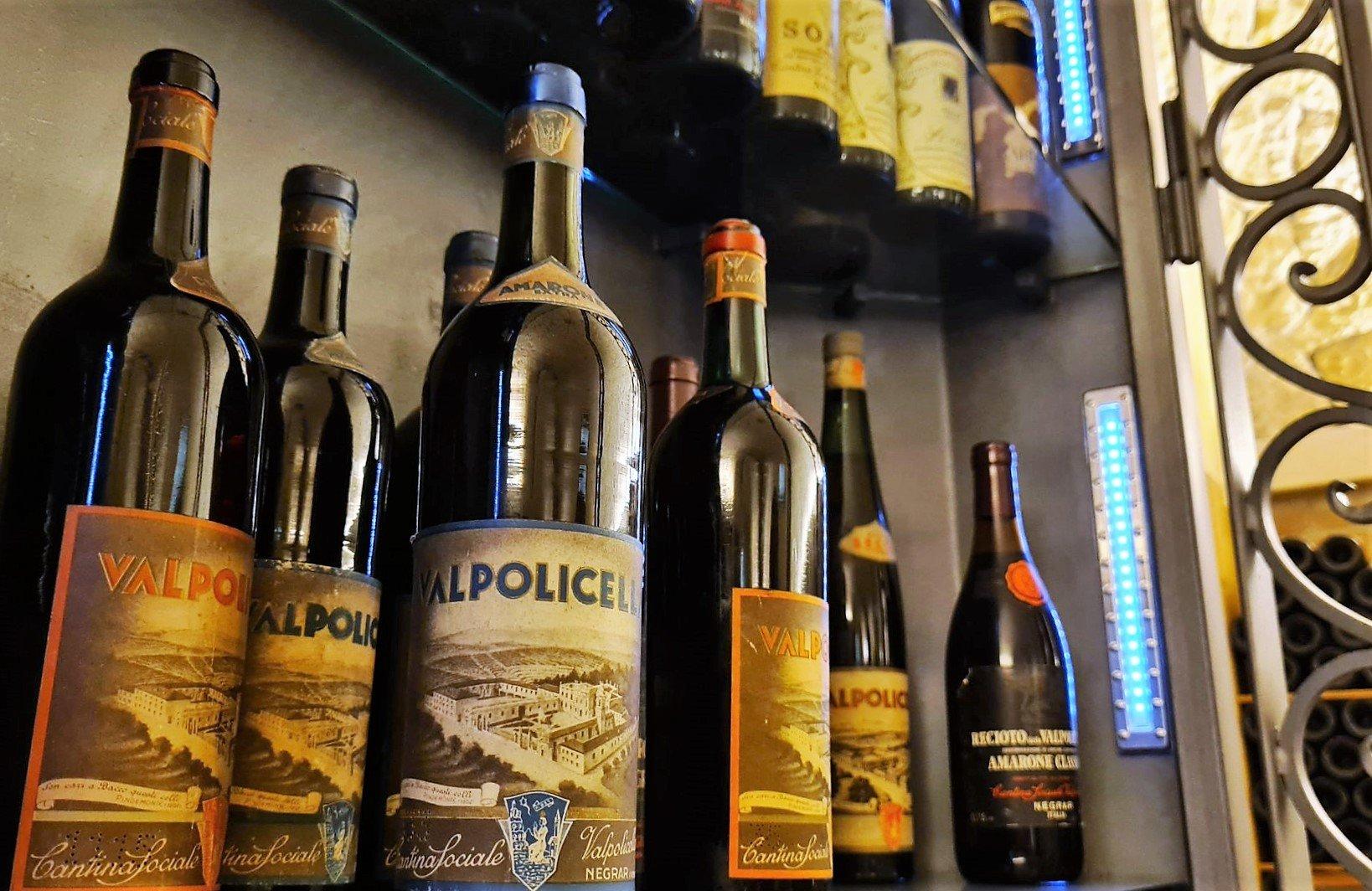 Le bottiglie storiche