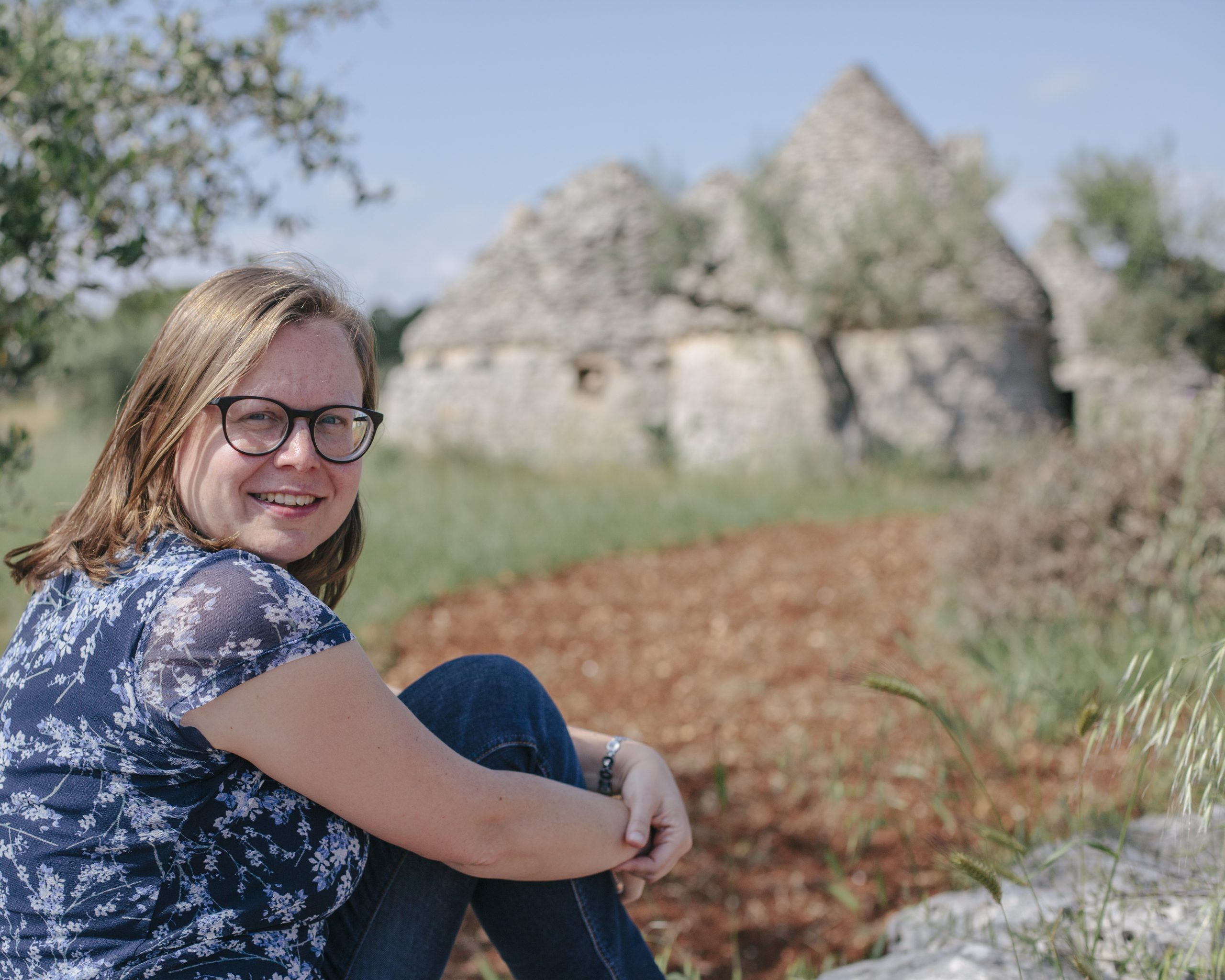 Saskia in Puglia