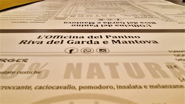 Cosa mangiare e bere all'Officina del Panino a Riva del Garda