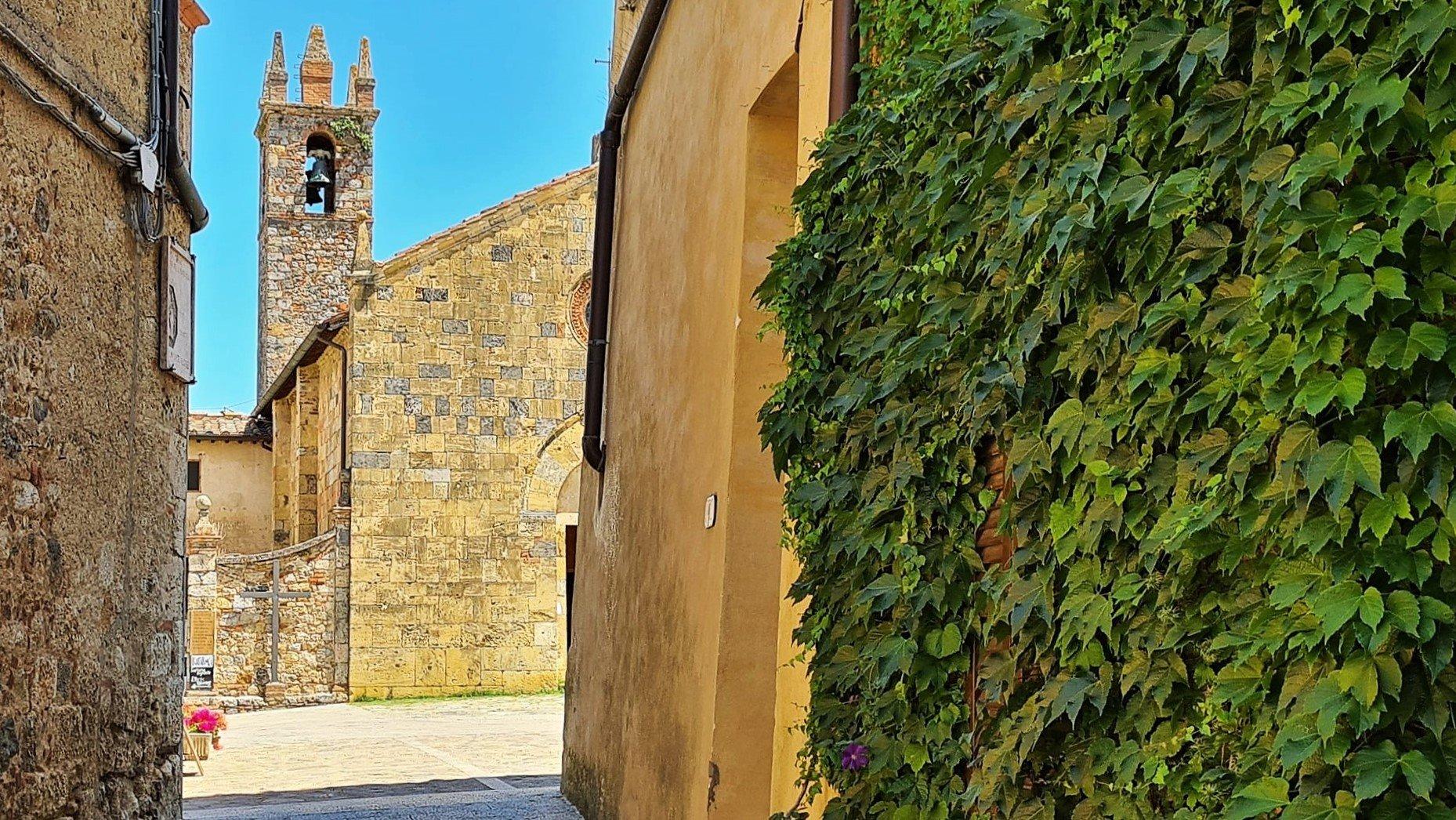 Dove si trova Monteriggioni in Toscana