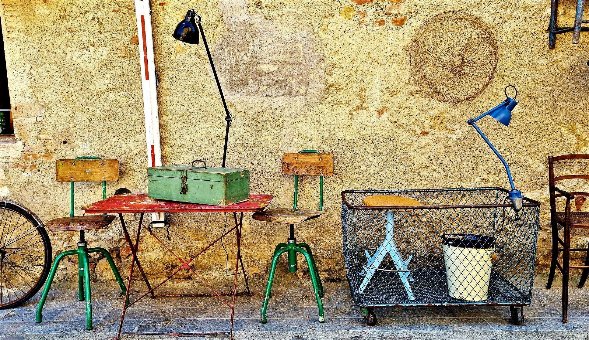 I negozi di Monteriggioni
