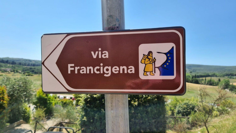 La via Francigena e Monteriggioni