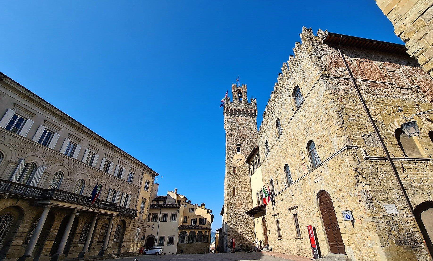 Le presenze del centro di Arezzo
