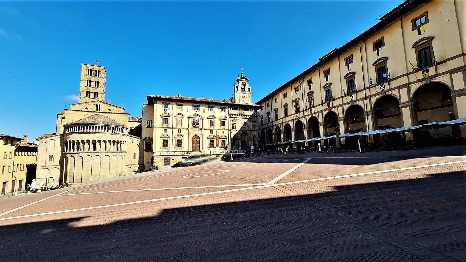 Una passeggiata in centro ad Arezzo
