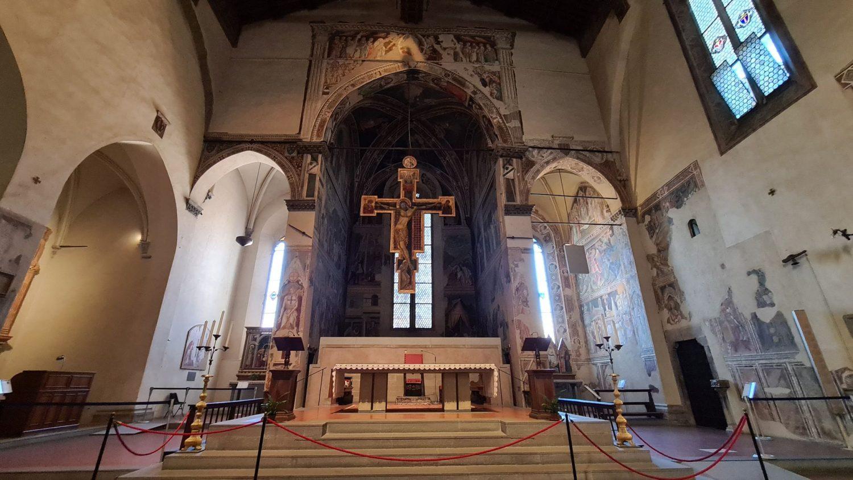 Gli affreschi della Vera Croce