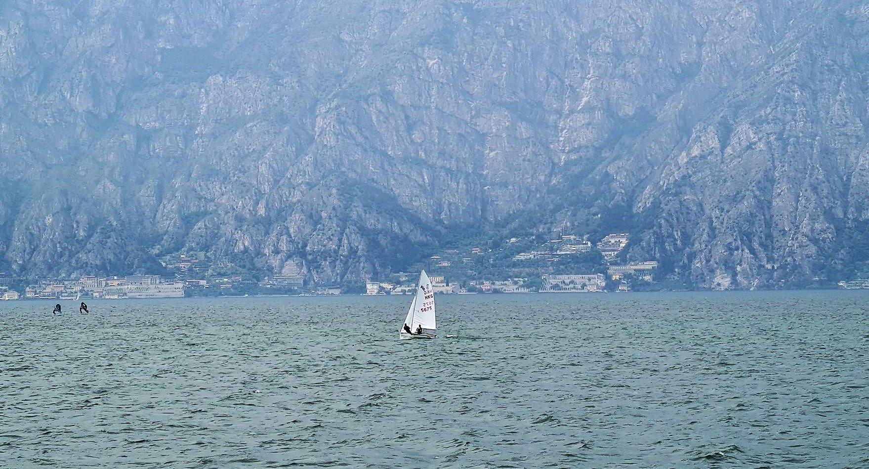 Il Lago di Garda e il Vento