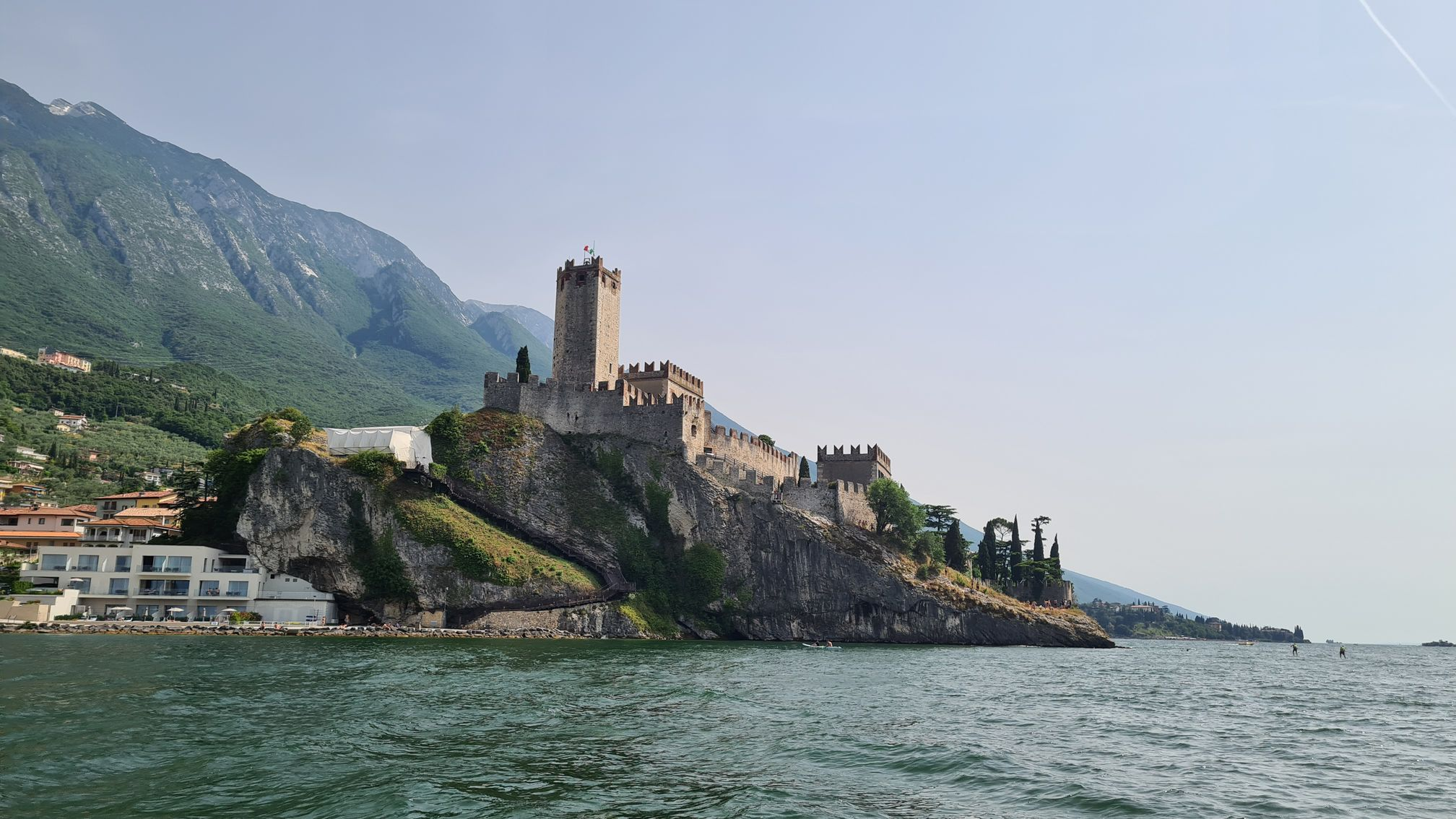 La bellezza del Garda dall'Acqua
