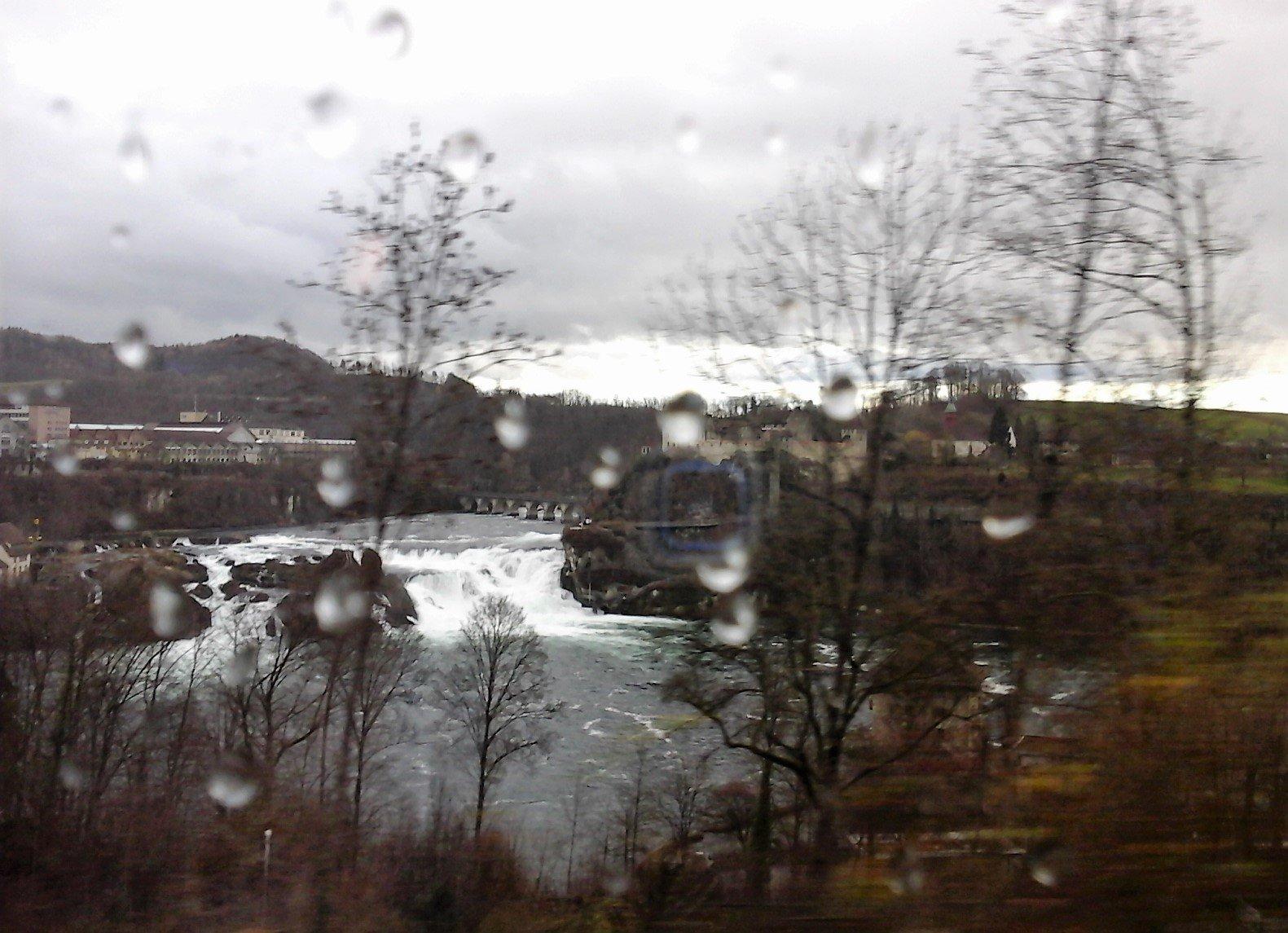 Schaffhausen e le cascate del Reno