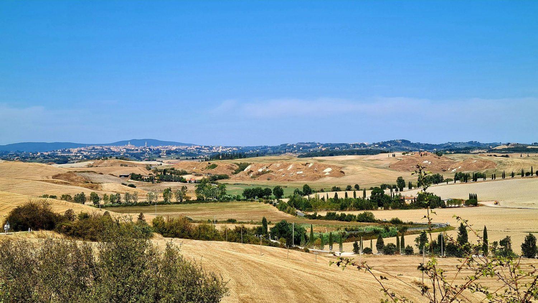 Il panorama su Siena